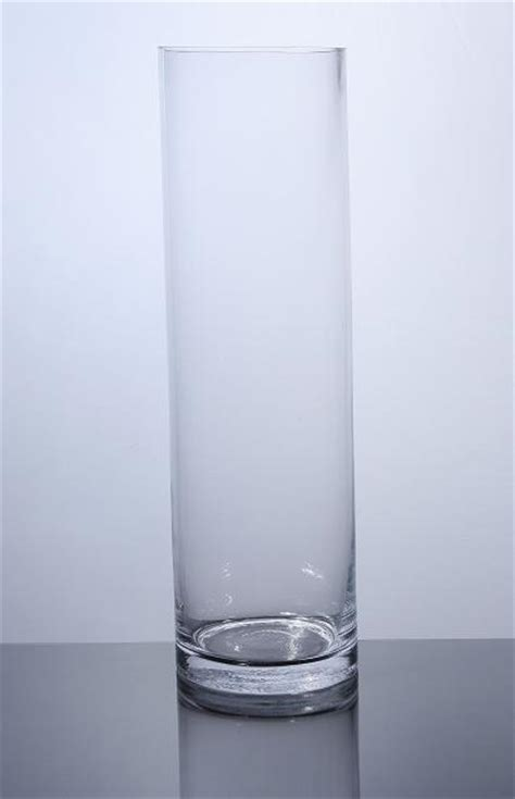 20 Cylinder Vase by Pc620 Cylinder Glass Vase 6 Quot X 20 Quot 6 P C Cylinder Glass