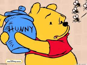 Winnie the pooh and honey outline pooh hunny pot winnie the pooh