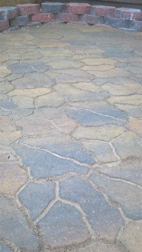 siena flagstone pavers from menards very easy to install