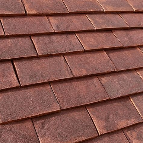 Handmade Clay Roof Tiles - marley canterbury handmade clay plain roof tile burford