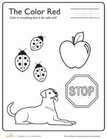 preschool learning colors coloring pages cooloring com