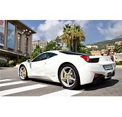 Ferrari 458 Italia White Garage  HD Desktop Wallpapers
