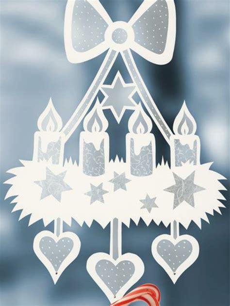 bastelvorlagen weihnachten fensterbilder kinder fensterbilder zu weihnachten originelle bastelideen zum