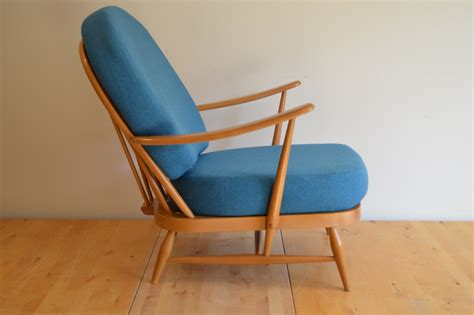 Ercol 203 Chair by Ercol 203 Armchair With Wool Covers The