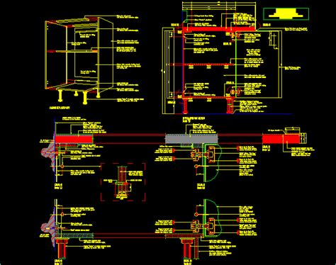 joinery details dwg detail  autocad designs cad
