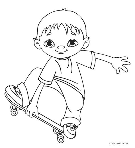 printable boy coloring pages  kids coolbkids