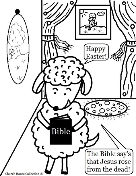 printable easter coloring pages for sunday school easter sheep with bible coloring page for sunday school