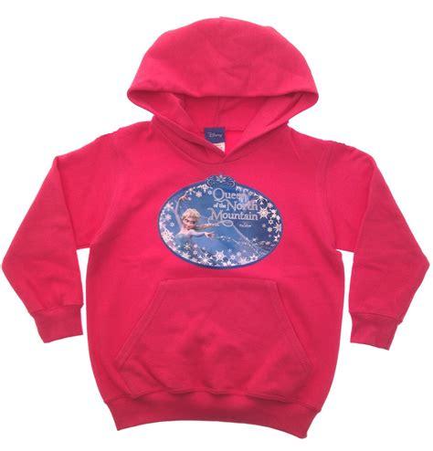 Jaket Sweater Hoodie Jumper Wolfskin New 2 frozen elsa hooded jacket disney princess hoodie jumper children size ebay