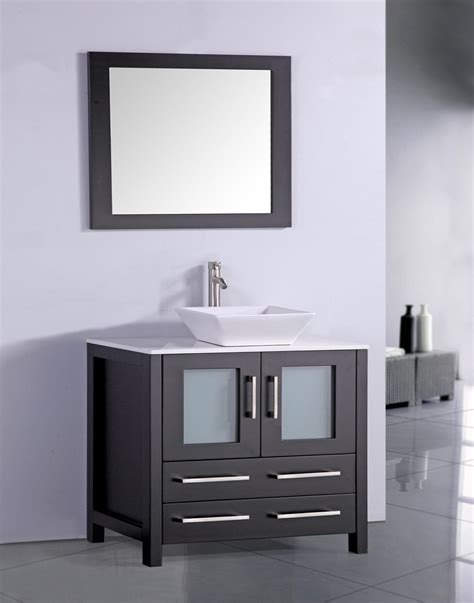Modern Espresso Bathroom Vanity Legion 36 Inch Contemporary Sink Bathroom Vanity Espresso