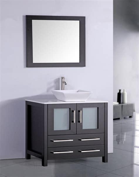 Modern Espresso Bathroom Vanity Legion 36 Inch Contemporary Sink Bathroom Vanity Espresso