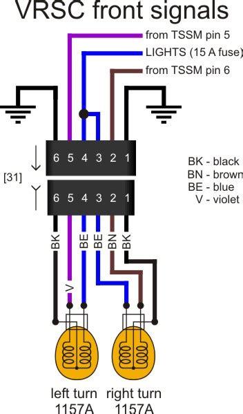 harley davidson turn signal wiring diagram style by