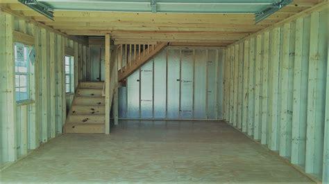 story garage size     shown