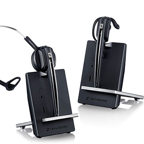 wireless headset for desk phone sennheiser d 10 wireless telephone headset