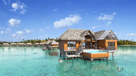 overwater bungalow brando bora bora overwater bungalows french polynesian