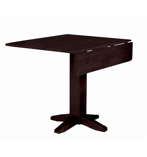 36 Square Dining Table 36 Inch Square Dropleaf Dining Table Simply Woods Furniture Opelika Al