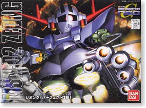 Bandai Bb 234 Msn 02 Zeong by Msn 02 Zeong Model Sd Gundam Model Kits