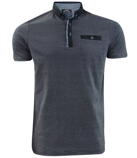 Printed Cotton T Shirts For Branded Corporate And Promotional Gifts In Lagos Nigeria by Mens New Genetic Apparel Brand Printed Polo Collar Fashion Cotton T Shirt Top