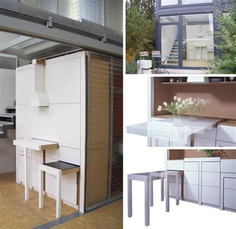 compact all in one furniture design for kitchen dining
