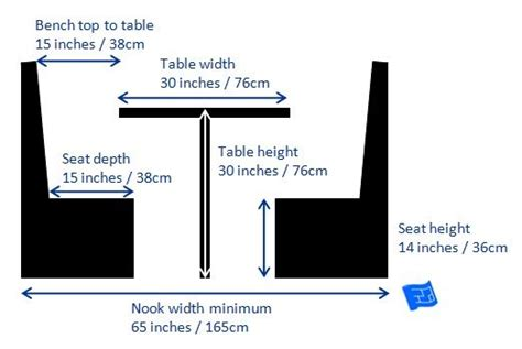 corner booth seating dimensions look no further for kitchen dimensions and kitchen