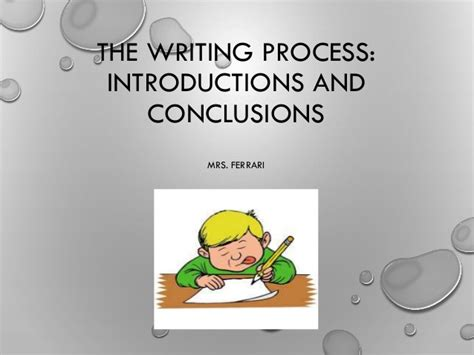 Writing Essay Introductions And Conclusions by Writing Introductions And Conclusions Some Top Tips