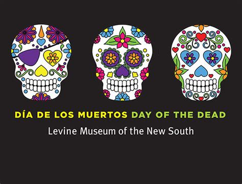 day of the dead celebration at levine museum