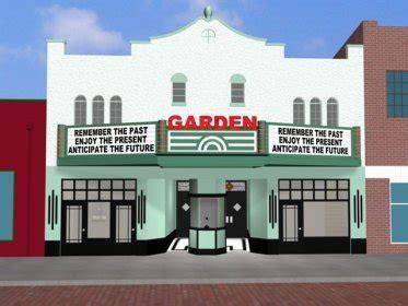 winter garden theater box office garden theate facade unveiled cinema treasures