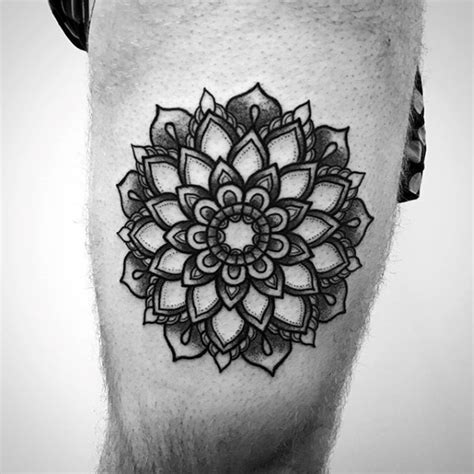 mandala tattoo masculine 70 mandala tattoo designs for men symbolic ink ideas