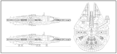 Yt 1300 Light Freighter by Cec Yt 1300 Stock Light Freighter Lineart By Wingzero 01