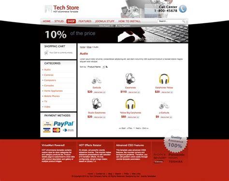 Best Joomla Ecommerce Templates joomla ecommerce template ecommerce hotthemes