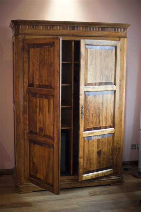 wooden wardrobe armoire free stock photo 8931 rustic wooden wardrobe or armoire