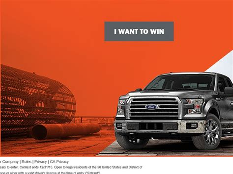 Sweepstakes Ford - ford sweepstakes ford contests autos post autos post