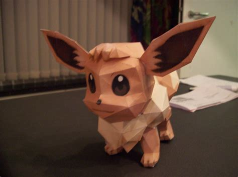 Eevee Papercraft - eevee papercraft by dreamer1005 on deviantart