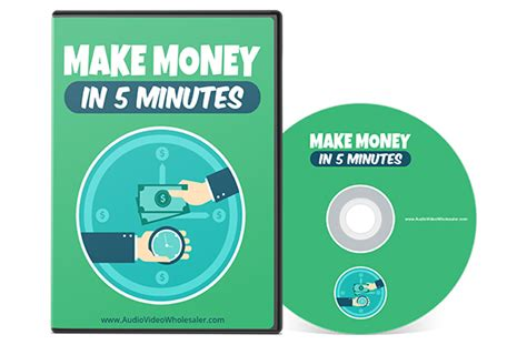 Make Money In Minutes Online - make money in 5 minutes plr database
