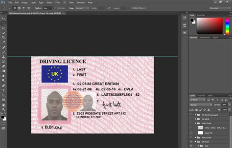 Uk Driving License Template by 1000 Ideas About Driver S License On Ca