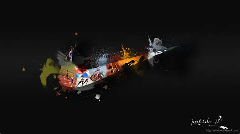 Nike Wallpaper For Windows 10   nike logo art wallpaper windows 10 wallpapers
