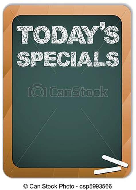 vector blackboard  todays specials message written clip art vector search drawings