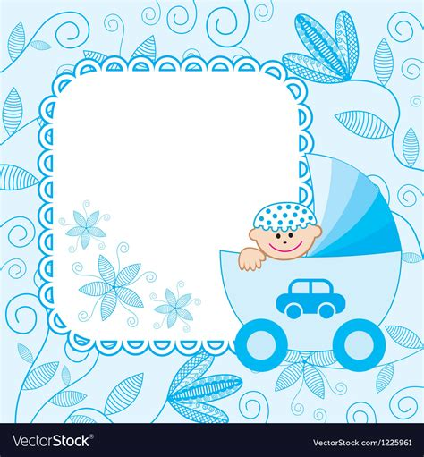 baby boy background baby boy background royalty free vector image vectorstock