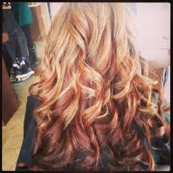 multi color highlights multi colored highlights hair hair hair