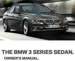 2012 bmw 3 series owner s manual bimmerfile