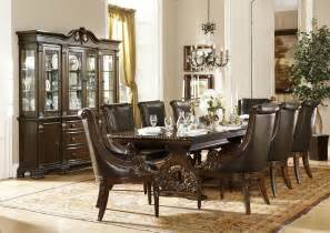 Black Formal Dining Room Sets by 9 Pc Homelegance Orleans Formal Dining Set