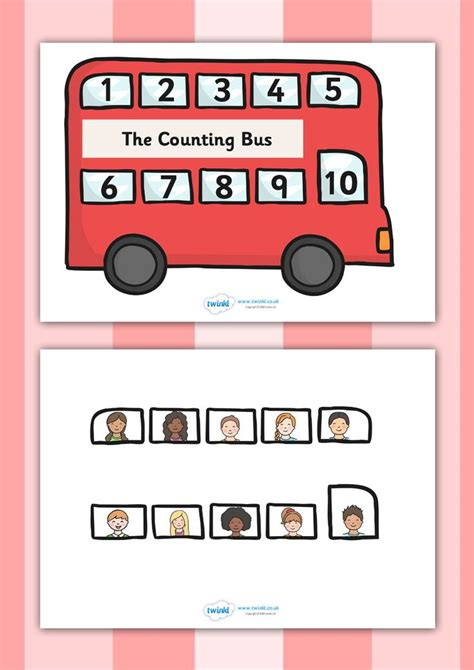 printable numbers twinkl twinkl resources gt gt interactive bus counting activity