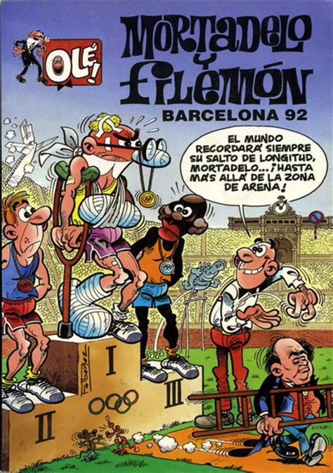 ole mortadelo y filemon mortadelo y filemon 1992 b ole tebeosfera