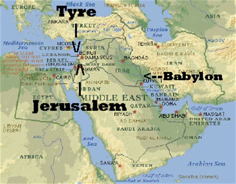 babylon and jerusalem map noicon101 mystery babylon