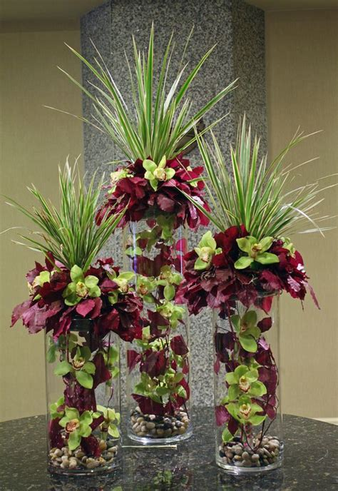 unique flower arrangements tom kenison aifd great for an event table wedding