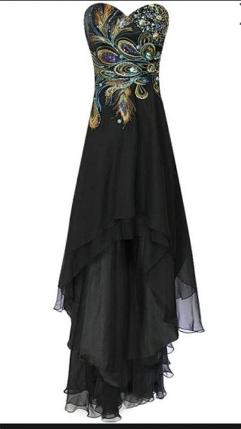 Black Cinderella Dress cinderella formal dress black high low 67 dresses