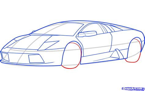 How To Draw A Lamborghini How To Draw A Lamborghini Gallardo 3 Brown Hairs