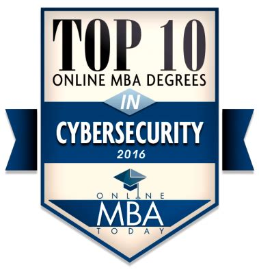 Cyber Security Mba Salary by Cybersecurity Program Ranked Second In Nation