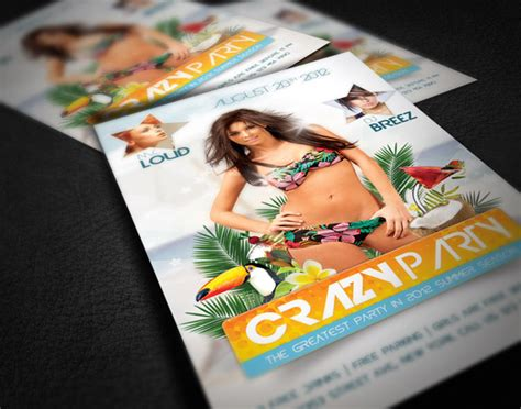 Tutorial Design Flyer | all free graphic design create an amazing summer flyer