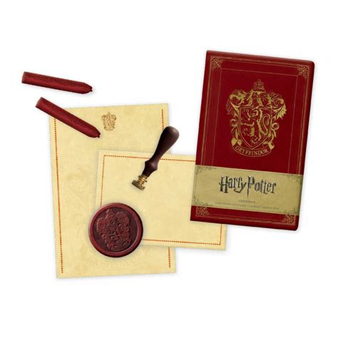 outlander deluxe stationery set books harry potter gryffindor deluxe stationery set book by
