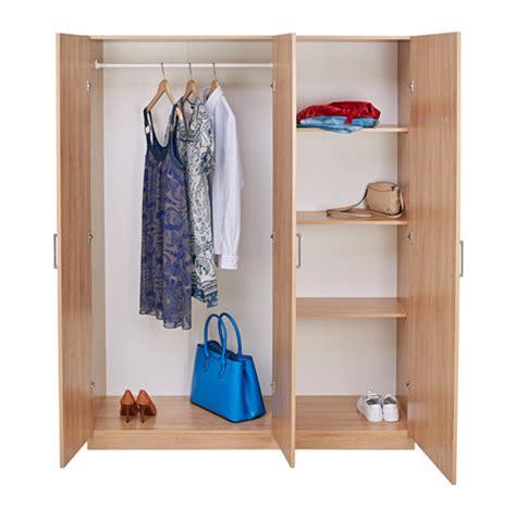 domb 197 s wardrobe oak effect 140x181 cm
